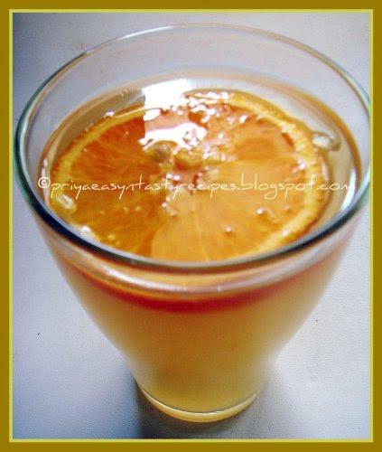 Barley Orangeade