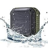 OmakerM4 bluetooth スピーカーBluetooth4.0+EDR 小型なワイヤレススピーカー お風呂にも使える防水スピーカー ハンズフリーとNFC対応なUSBスピーカー iPhone/iPhone6/iPhone6plus/iPhone5s/iPad/ipod/スマホ対応なポータブルスピーカー(オリーブグリーン) [並行輸入品]