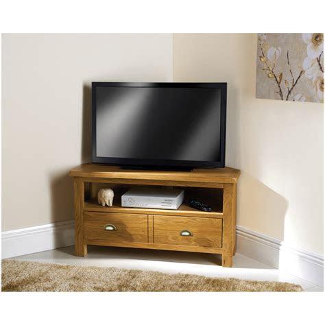 wiltshire oak corner tv unit living room furniture bm