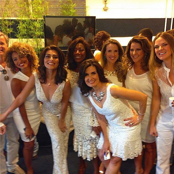 Sheron Menezzes, Juliana Paes, Glória Maria, Fátima Bernardes, Mariana Ferrão, Letícia Birkheuer (Foto: Instagram/Reprodução)