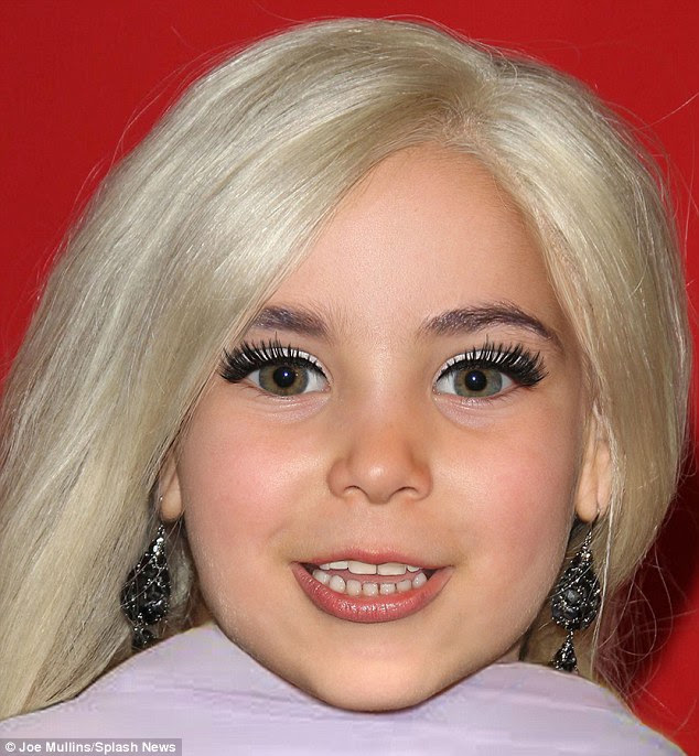 Forensic artist Joe Mullins has used recent pictures of Lady Gaga and her fiance Taylor Kinney to imagine what their children would look like - this is what he predicts their daughter could look like