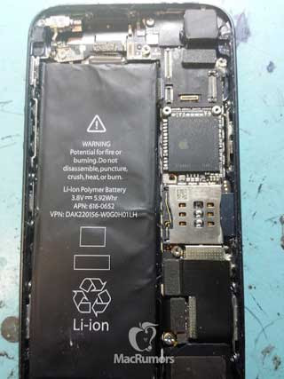 New leaked images of the iPhone 5 as reveal new information