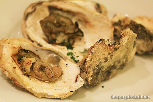 Plate - Grilled Oysters
