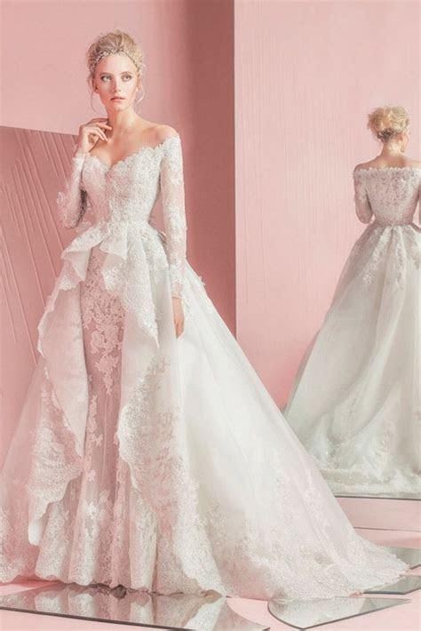 25  best ideas about Peplum wedding dress on Pinterest