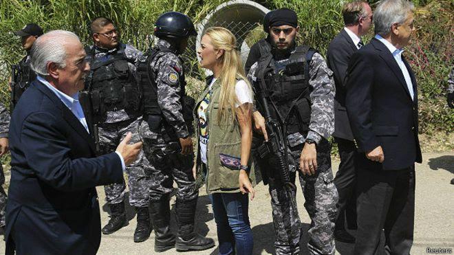 Resultado de imagen para EXPRESIDENTES LLEGAN A VENEZUELA APOYAR A                  LEOPOLDO