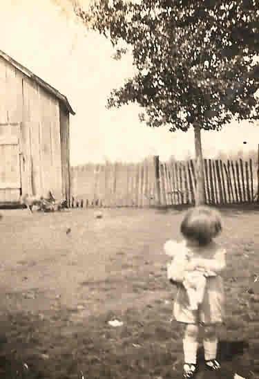 grandma nancy as a toddler