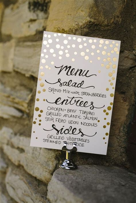Best 25  Wedding dinner menu ideas on Pinterest
