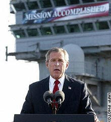 Bush-mission-accomplished