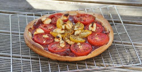 Tomato, Basil & Feta Tart 3