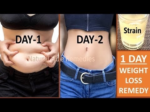 1 DAY WEIGHT LOSS REMEDY || 100% SUCCESS || LOSE UP TO 10 LBS IN 1 DAY