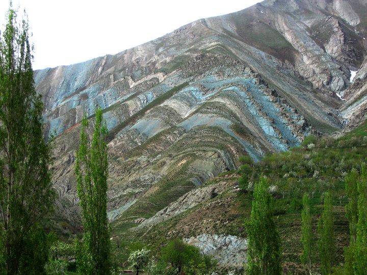 Tehran mountains