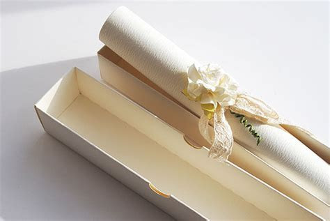 Make your own vintage style scroll wedding invitations