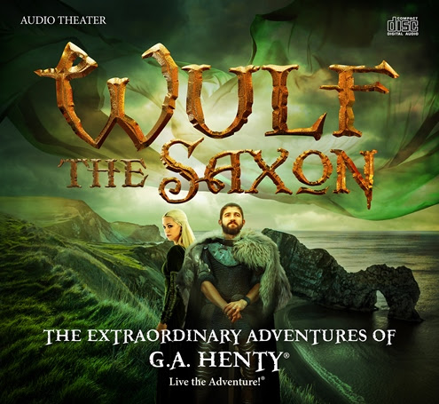 Wulf the Saxon - An Extraordinary Adventure from Heirloom Audio on Homeschool Coffee Break @kympossibleblog.blogspot.com