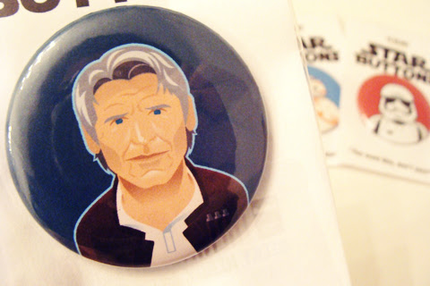 The Ninja Bot Star Wars Button Giveaway   Anakin And His Angel