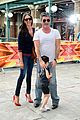 simon cowell brings son eric to x factor london photo call 02