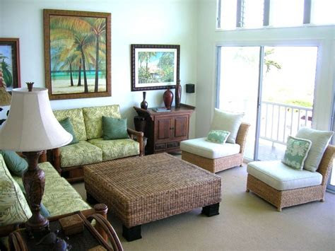 classic tropical living room designs