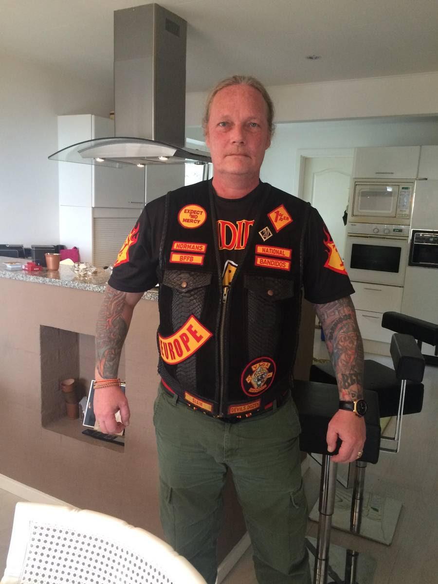 Bandidos ubestridte leder i Europa og Asien, Michael 'Kokken' Rosenvold, mener ikke, at Sandberg har en fremtid i nogen MC-klubber på dansk jord. Foto: Miki Mistrati