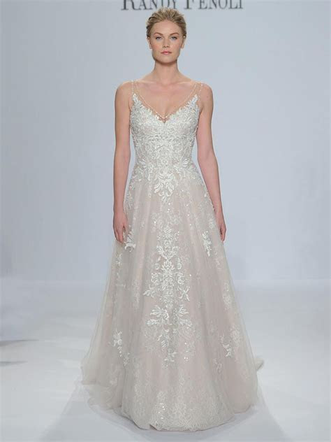 Randy Fenoli Spring 2018: Shimmering Wedding Dresses Make