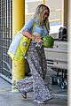 hilary duff shops for melons at whole foods wearing tropical themed pants 03