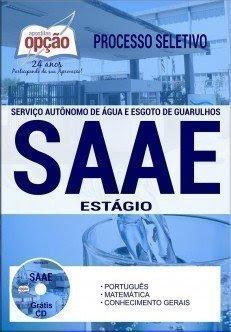 Apostila Processo Seletivo SAAE Guarulhos 2017 | ESTÁGIO