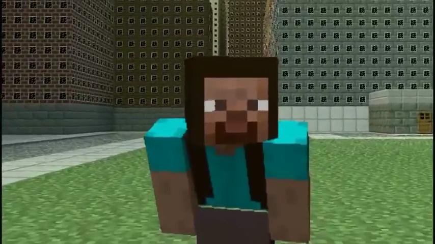 Minecraft In Real Life Steve Bukalah R