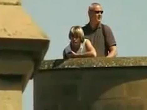 Fotograma de la escena colgada en Youtube.