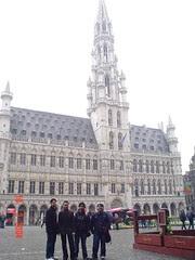 Hotel de Ville kat Grand Place, Brussels, Belgium