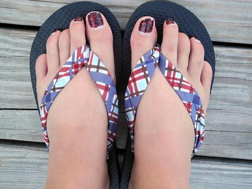 Samantha Walker Flip Flops