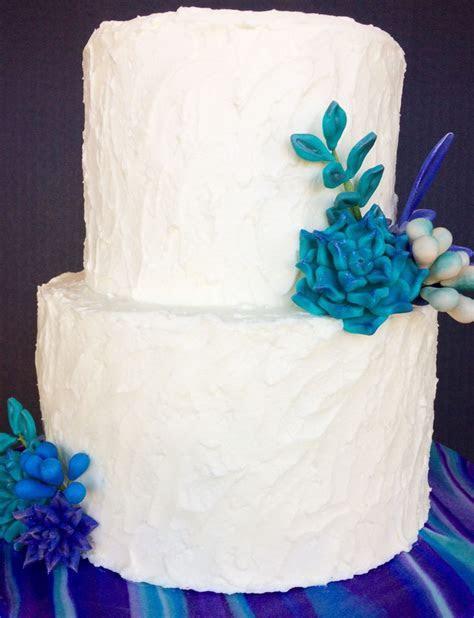 Rustic Succulent Wedding Cake   CakeCentral.com