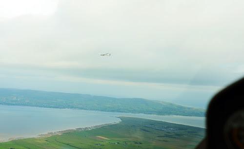 Magilligan Point, Glider View