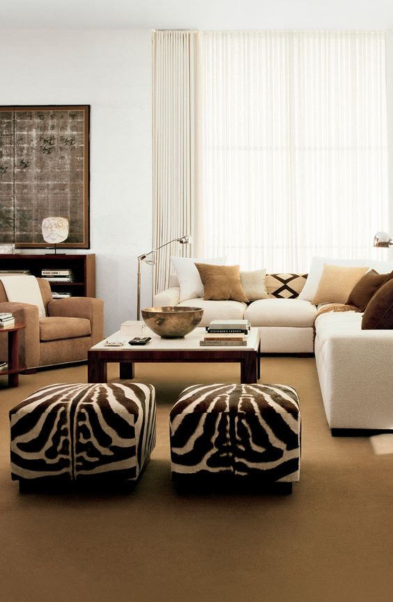 Animal Print Interior Decor For a Natural Look of Your Home