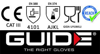 Guide 4011 Kimyasal Eldiven