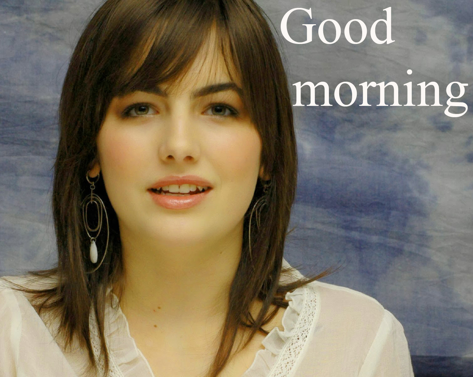 Hd Good Morning Picture For The Most Beautiful Girl In The World