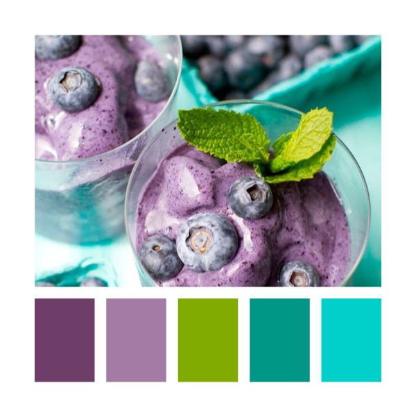Colour Palettes - blueberry and mint @Erika Johnson hmm???? with some grey or black would look nice huh???
