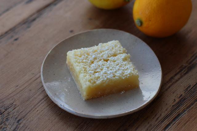 Meyer Lemon Buttermilk Bars