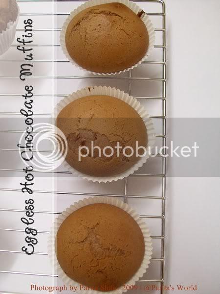 Eggless Baking,Muffins,Chocolate