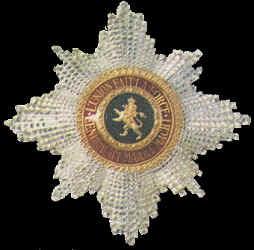 Gran Cruz, Orden de Leopoldo I