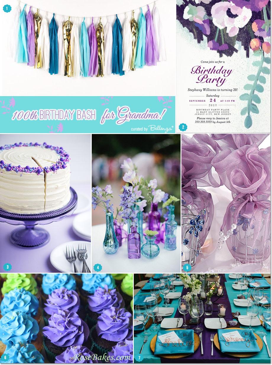 100th Birthday Party Ideas For Grandma