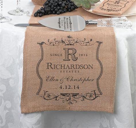 Burlap Wedding Accessories   Ideas for Your Wedding