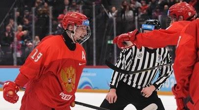 Мичков забросил 11-ю шайбу на ЮЧМ-2021 по хоккею