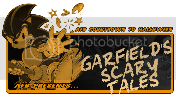 Af Blog Countdown To Halloween Garfield S Scary Tales