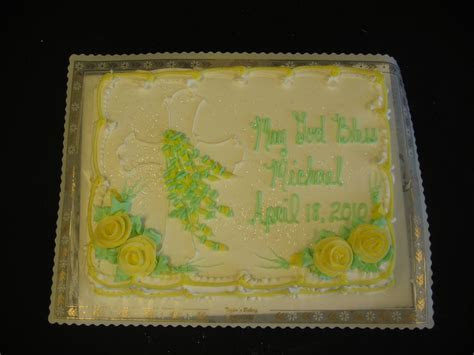 Christening, Communion & Confirmation Cakes « Taylor's Bakery