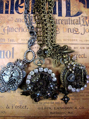 Steampunk Necklaces! 8