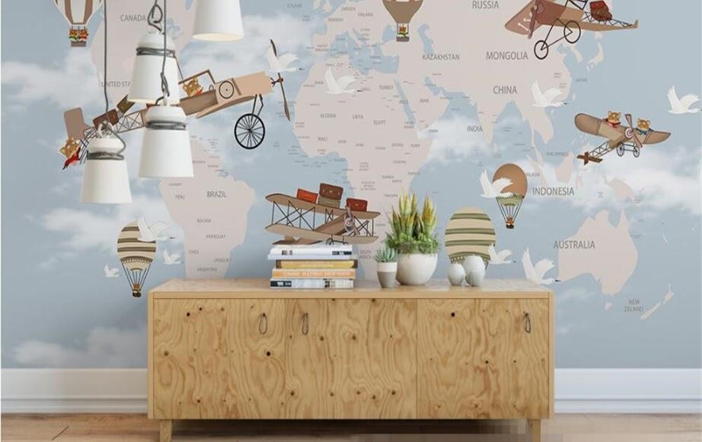 Behang Kinderkamer Vliegtuigen : Beste kopen beibehang custom kinderkamer muur d behang