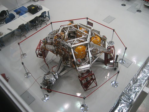 MSL Rocket Platform in JPL Clean Room