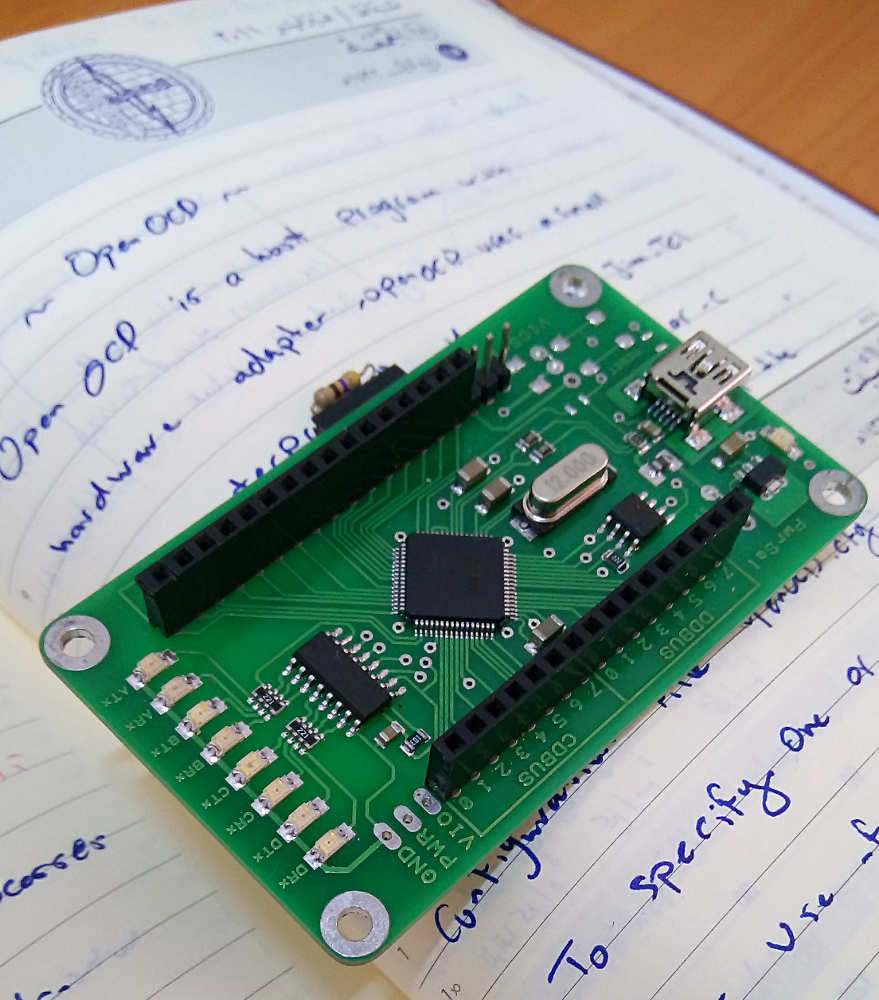The FT2232 breakout board I ordered from Taobao