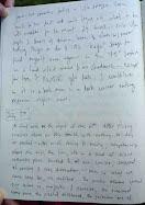 """Journal """"Negative Twilight"""" - Excerpt - 7.7.08"""