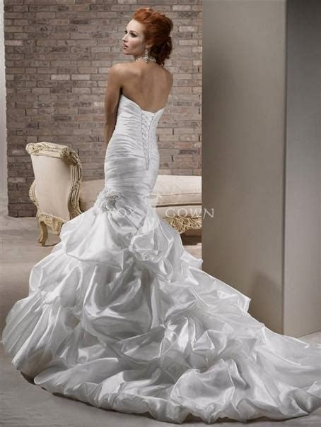 mermaid wedding dresses with crystals 2018 2019   Best