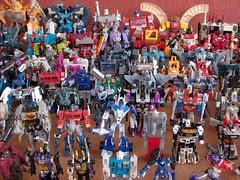 Mi Colección de Transformers (14-Sep-2008)