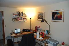 setting up the book shelf